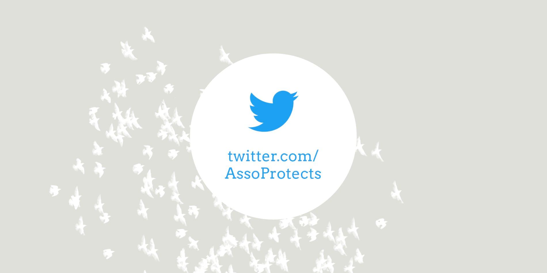 Nous sommes sur le réseau social Twitter